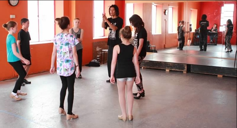 Winston Morrison Melbourne Tap Dance Kids Class Workshop